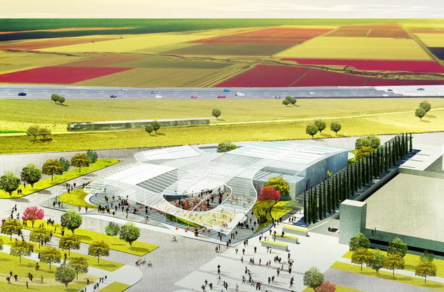 UC Davis Museum rendering by SO-IL (via Jan Shrem and Maria Manetti Shrem Museum of Art)