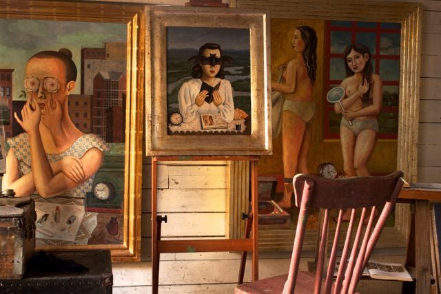 Inside Rick Beerhorst's studio (all images courtesy the artist)
