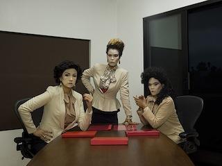 Manananggoogle executives power pose for the camera. Image courtesy The  Mail Order Brides/M.O.B.