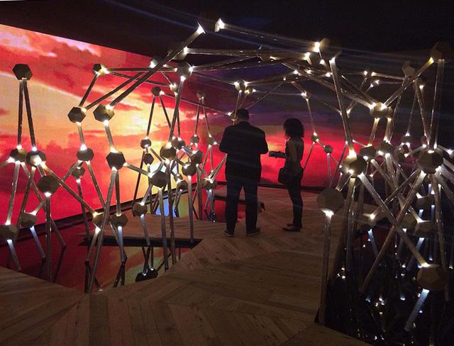 "Guilherme Torres's ""Mangue Groove"" installation for Swarovski"