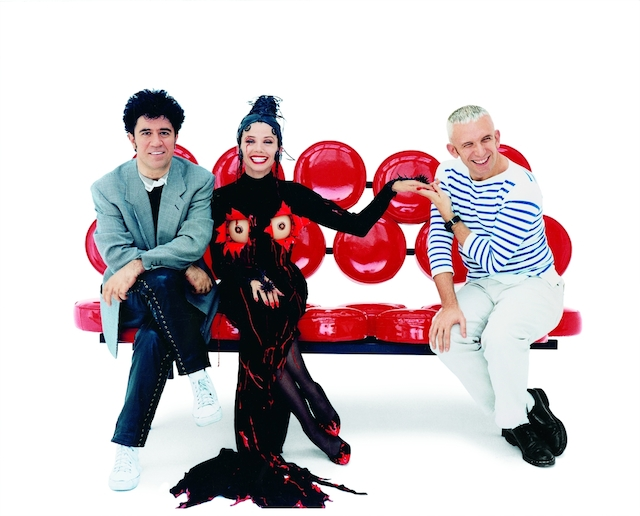 Almodovar, Abril and Gaultier