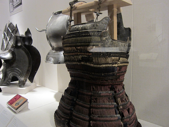 """""""Bashford Dean and the Creation of the Arms and Armor Department"""" exhibition at the Metropolitan Museum (photograph by the author)"""
