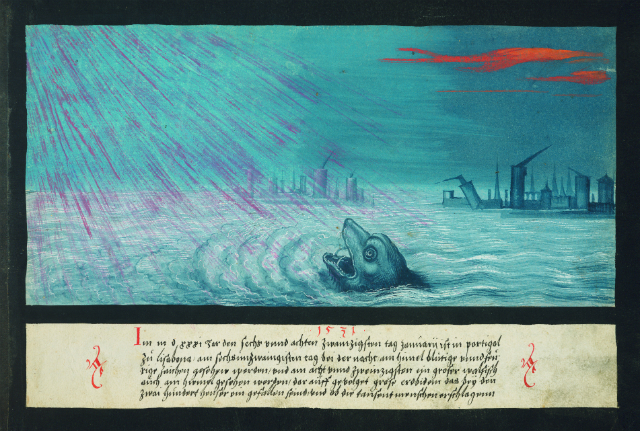 """""""1531 – Whale and earthquake in Lisbon"""""""