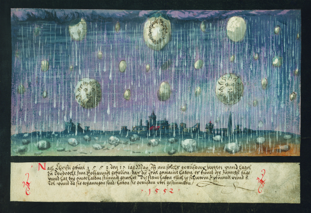 """1552 – Hail in Dordrecht"""