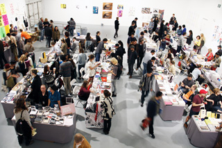 Some of the 15,000 people that attended the 2013 LAABF. (image via Printed Matter)