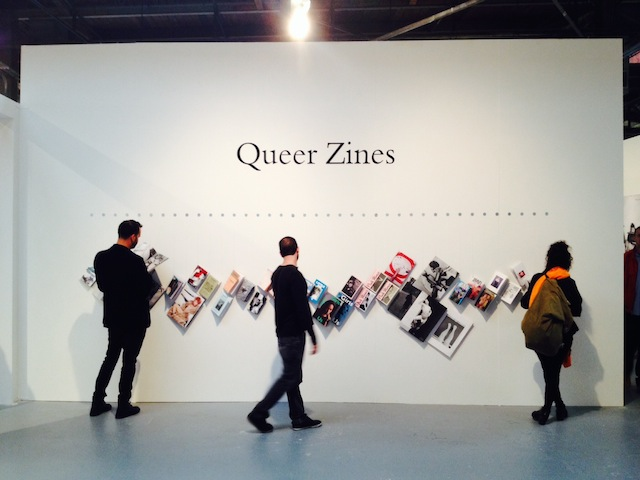 Queer Zines exhibition at the LA Art Book Fair. All photographs by the author for Hyperallergic.