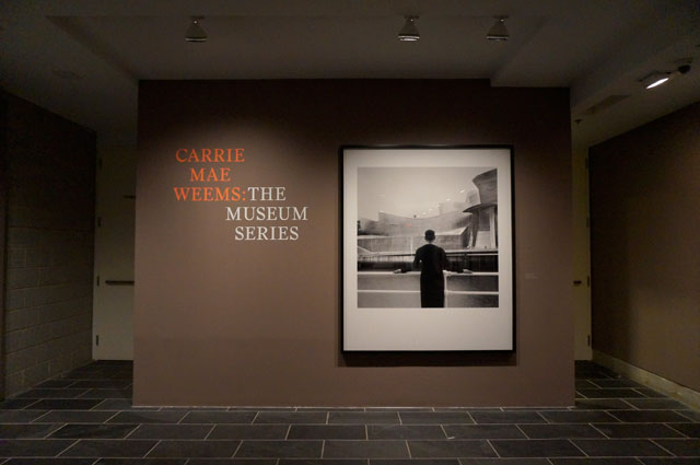 "Installation view, ""Carrie Mae Weems: The Museum Series,"" the Studio Museum in Harlem (photo by Jillian Steinhauer for Hyperallergic)"