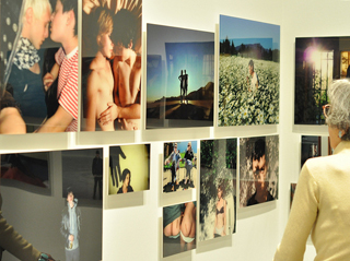 """A view of  """"Relationship"""" (2008–13), forty-six chromogenic prints,"""