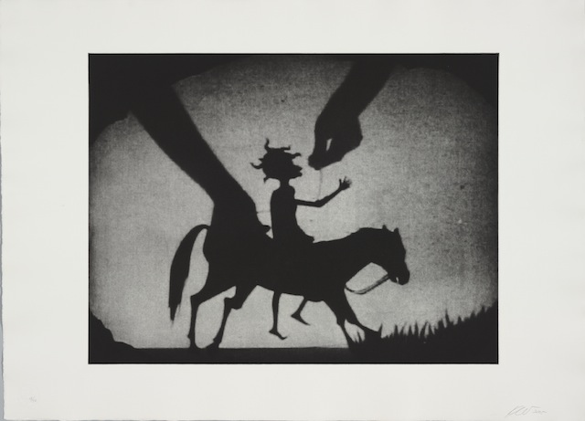 "Kara Walker, ""Testimony"" (2005). Photogravure, Collection of Jordan D. Schnitzer © Kara Walker"