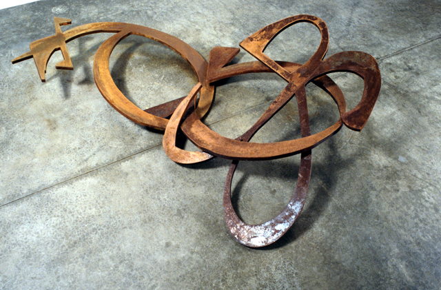 Variable No. 2, 1988, steel, 22.5 x 93 x 53 inches
