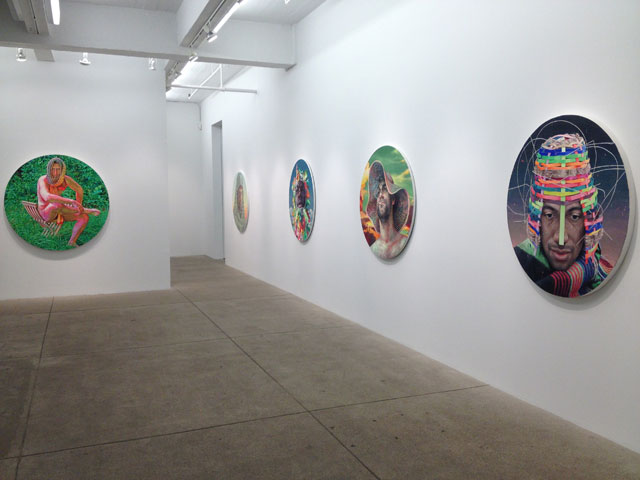 "Installation view, ""Robin F. Williams: Sons of the Pioneers"" at PPOW Gallery"