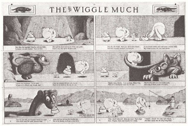 """The surreal, spooky world of Crowley's """"The Wigglemuch"""""""