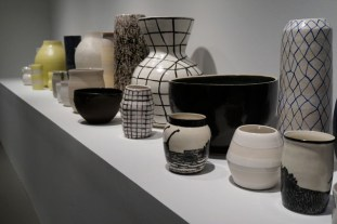 Ceramic work by Shio Kusaka at the Whitney Biennial (photo by Jillian Steinhauer) (click to enlarge)