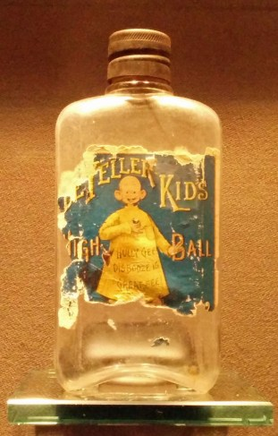 """""""De Yeller Kid's High Ball"""" at Geppi's Entertainment Museum, Baltimore (click to enlarge)"""