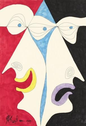 Kurt Vonnegut,《無題》(1987年4月1日)