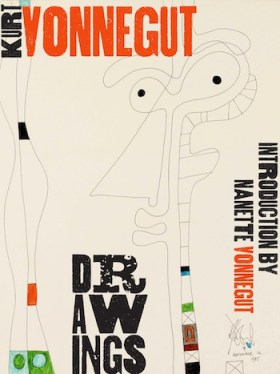 """Kurt Vonnegut Drawings"" cover"