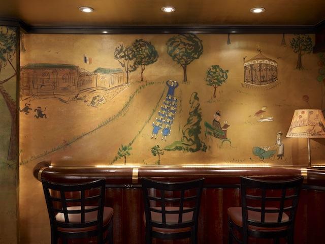 Bemelmans Bar, NYC Murals by Ludwig Bemelmans