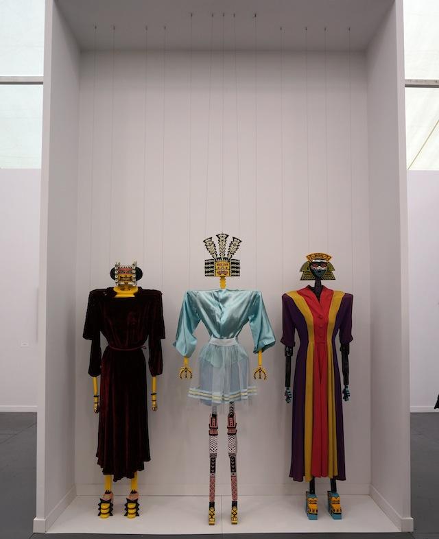 Three works by Karl Wirsum at Derek Eller Gallery