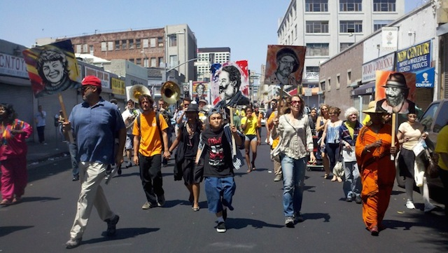 Documentation of the 2012 Walk The Talk parade/performance. All photographs by Austin Hines and Henriëtte Brouwers.