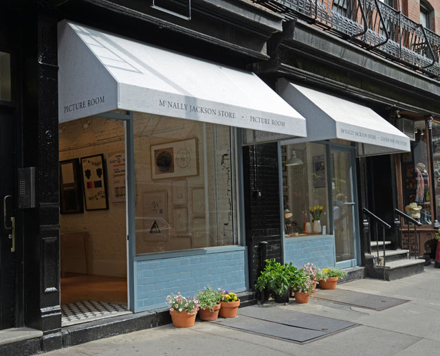 McNally Jackson's side-by-side shops: Picture Room and Goods for the Study