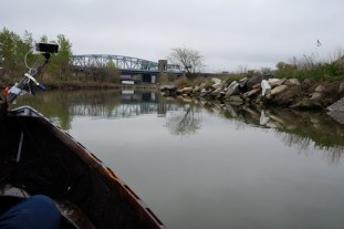 Nearing the northern tip of Randalls Island (click to enlarge)