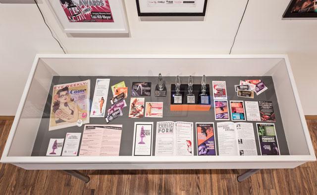Installation view, 'Archiving Public Sex'