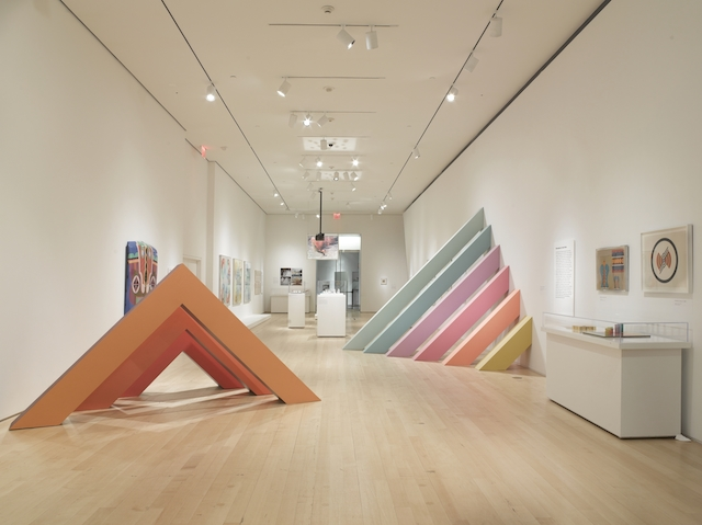 Chicago in LA Installation. Courtesy of the Brooklyn Museum (1)