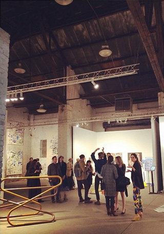 A look inside the Newd Art Show