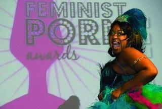 CoCo LaCreme Feminist Porn Awards Performance (2009), Marc S. Bonham Centre for Sexual Diversity Studies Sexual Representation Collection (click to enlarge)