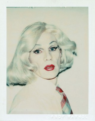 "Andy Warhol. ""Self-Potrait in Drag"" (1981) (image courtesy of the Andy Warhol Museum, Pittsburgh)"