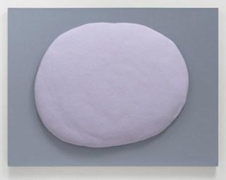 Carl Ostendarp. Untitled, 1992. Urethane foam on linen.