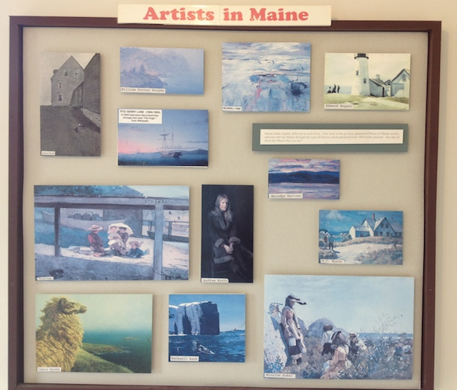 Artists in Maine