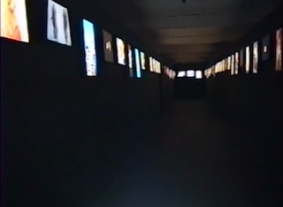 'Don't Look Now' curated by Joshua Decter at Thread Waxing Space (1994)  (still via Archives of American Art/Youtube) https://www.youtube.com/watch?v=wWsvFo57VN0