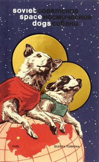 """Cover of """"Soviet Space Dogs"""""""