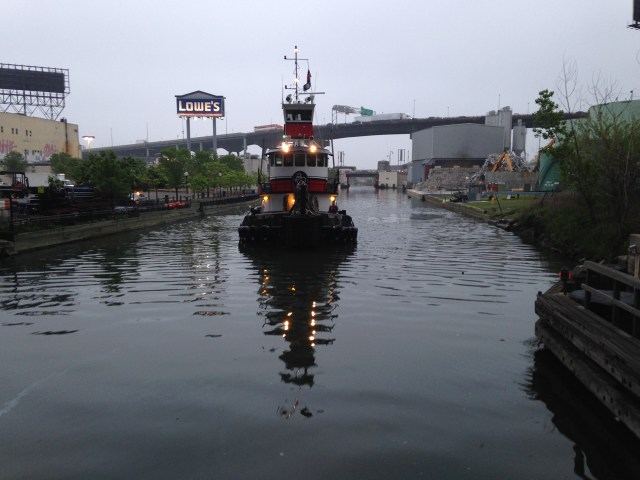The Gowanus Canal (photo by the author)