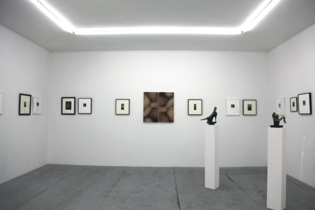 Installation view, 'BREYER P-ORRIDGE & PIERRE MOLINIER' at  Invisible-Exports, New York, 2014 (courtesy the artists and Invisible-Exports)