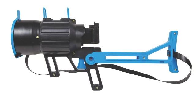 Ready Ranger Tele-Photo Camera Gun Manufactured in USA for Aurora. Year: 1974. Film: 126.
