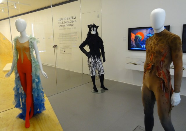 Installation view of 'Chris Ofili: When Shadows Were Shortest' at the New Museum