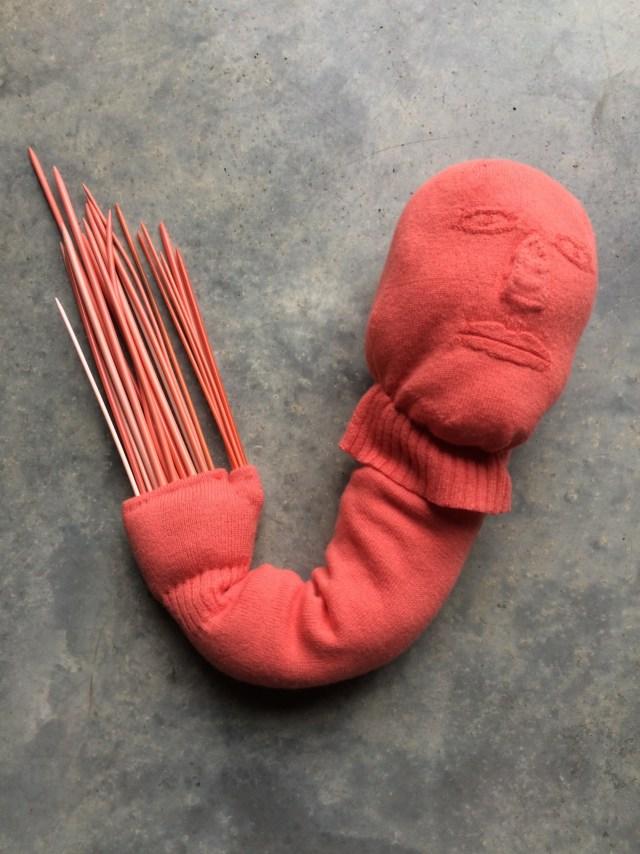 """Freddie Robins, """"Pocky"""" (image courtesy the artist)"""