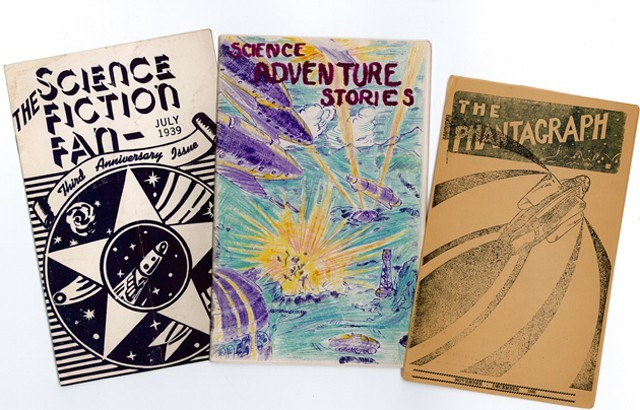 Fanzines from the Hevelin Collection (courtesy of UI Libraries and Special Collections)