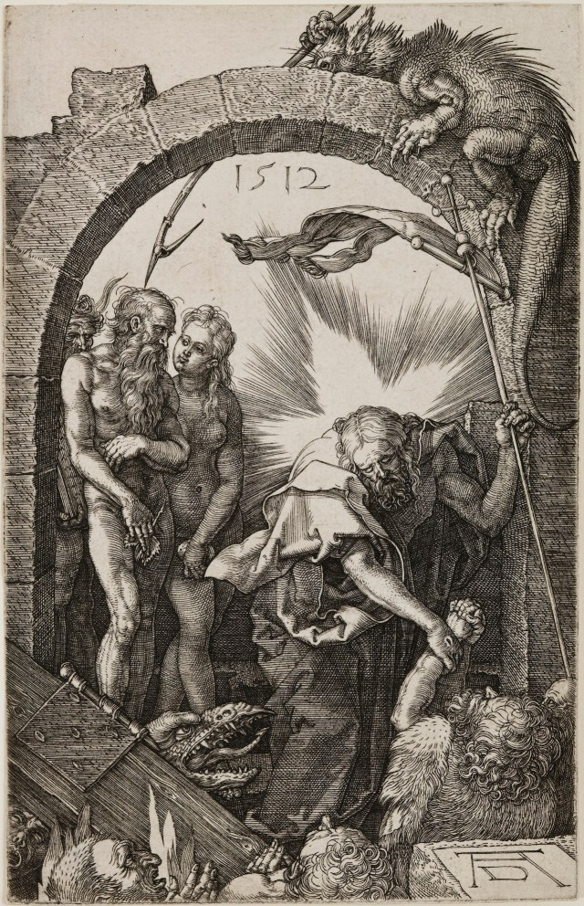 Albrecht Dürer Christ in Limbo, from The Engraved Passion, 1512 Engraving on laid paper Jansma Collection, Grand Rapids Art Museum, 2007.16n
