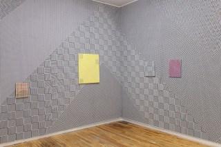 Installation view of Samantha Bittman: Razzle Dazzle (image courtesy Andrew Rafacz Gallery)