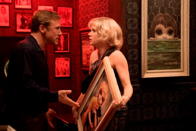 Amy Adams and Christoph Waltz as Margaret and Walter Keane in 'Big Eyes'
