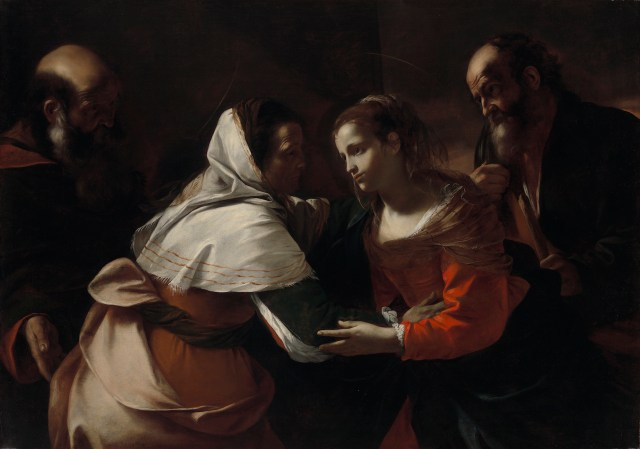 "Mattia Preti, ""The Visitation"" (1613–19), oil on canvas (courtesy the Virginia Museum of Fine Arts, Richmond; Arthur and Margaret Glasgow Endowment)"