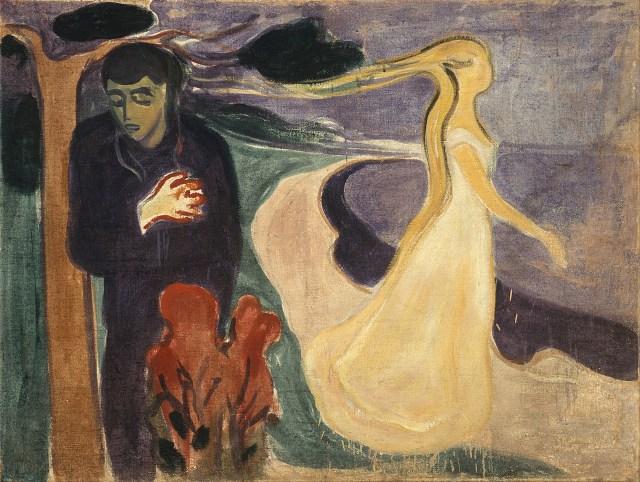 "Edvard Munch, ""Separation"" (1896) (Munch Museum, Oslo, via Google Art Project)"
