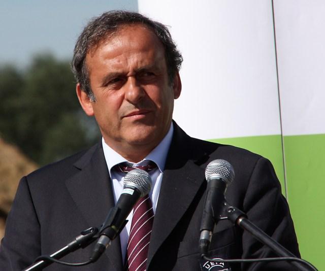 FIFA president Michel Platini (photo by Klearchos Kapoutsis, via Wikimedia Commons)