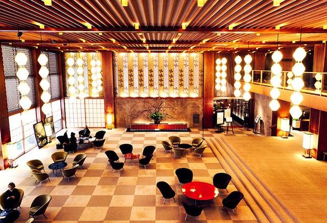 Interior of the Hotel Okura (Image courtesy of Save the Okura)