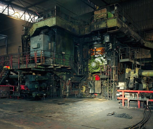 Thomas Struth (German, born 1954) Hot Rolling Mill, ThyssenKrupp Steel, Duisburg 2010 Chromogenic print 67 11/16 × 79 15/16 in. (172 × 203 cm) Purchase, The Rosenkranz Foundation Gift and Vital Projects Fund Inc. Gift, through Joyce and Robert Menschel, 2014 The Metropolitan Museum of Art (2014.288) © Thomas Struth All images courtesy of The Metropolitan Museum of Art
