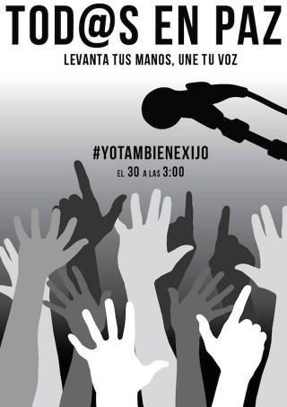Flyer for #YoTambiénExijo (courtesy Studio Bruguera) (click to enlarge)