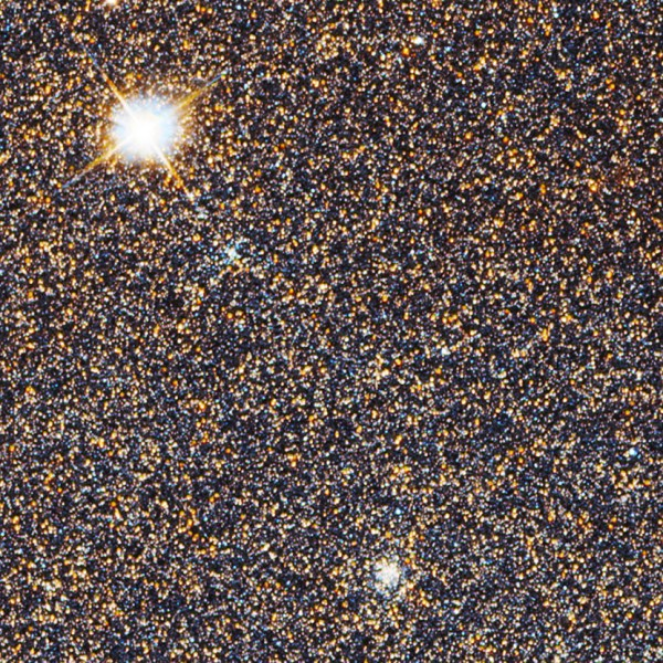 Zoom in on 100 Million Stars with the Hubble Telescopes